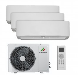 Clima Top Trial 27 EXT 7+7+9 - Climatizzatore Trial-split DC Inverter Italtherm