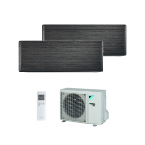 Daikin Stylish Blackwood FTXA-T 12+12 Btu