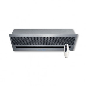 "BARRIERA D'ARIA ''TECNOBREEZE STEALTH WIND"" L.1500mm 230V CON TELECOMANDO"
